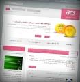 طراحی سایت شرکت بازرگانی آوین صنعت