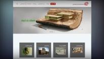 طراحی سایت شرکت معماری هشتی